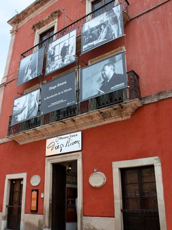Diego Rivera en Guanajuato